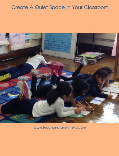 Create a quiet space in your classroom