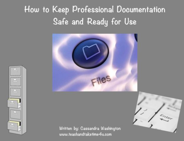 Keep documentation safe and ready for use