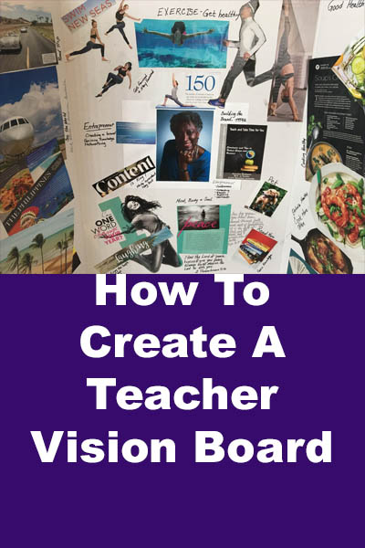 how to create a vision board for your life